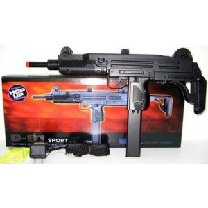 SDN Airsoft Rifle 1 d91 airsoft full size mac 11 style smg(Airsoft Gun)