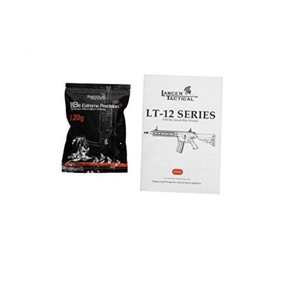 """Lancer Tactical Airsoft Rifle 7 Lancer Tactical LT-12B 10"""" Free Float Rail M4 Aeg Metal Gear Airsoft Gun Gear Airsoft Rifle Shooting Gun Machine"""