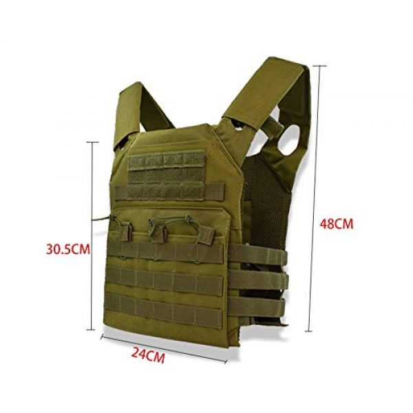 BGJ Airsoft Tactical Vest 3 Hunting Body Armor Plate Carrier Tactical Vest Fashion Outdoor CS Game Paintball Airsoft Vest Military Gear Equipment SAA0095