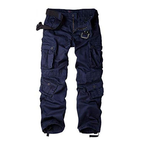 TRGPSG Tactical Pant 1 Women's Casual Combat Cargo Pants,Cotton Outdoor Camouflage Military Multi Pockets Work Pants