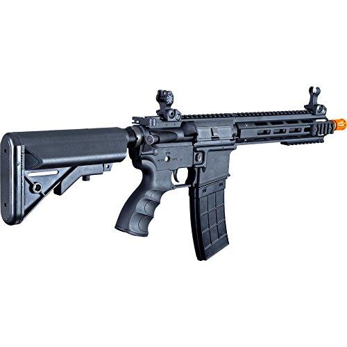 Tippmann Airsoft  7 Tippmann Tactical Recon AEG CQB 9.5in Airsoft Rifle Black