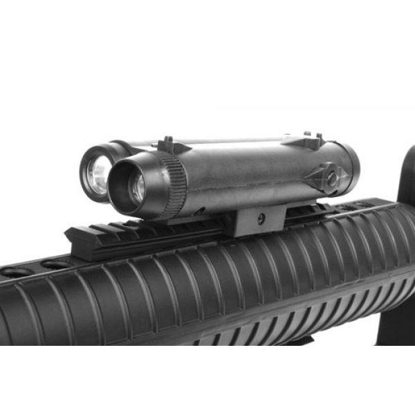 Well Airsoft Rifle 6 wellfire m16a3 Spring Airsoft Rifle - w/Vertical Grip & Flashlight Unit m16(Airsoft Gun)