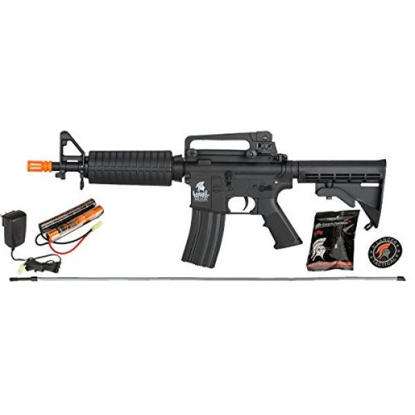 UKARMS Airsoft Rifle 1 UKARMS Lancer Tactical AEG Electric Airsoft M4 CQB M933 Commando