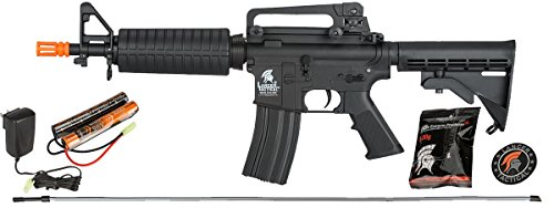UKARMS  1 UKARMS Lancer Tactical AEG Electric Airsoft M4 CQB M933 Commando