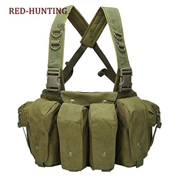 Shefure Airsoft Tactical Vest 2 Shefure New Camouflage Tactical Vest Airsoft Ammo Chest Rig AK 47 Magazine Carrier Combat Military Outdoor Paintball Hunting Vest