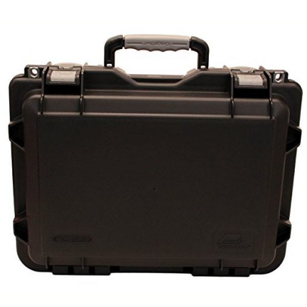 Plano Pistol Case 1 Plano Molding Company Mil-Spec Field Locker Double Pistol Case, Black, Large (109170)