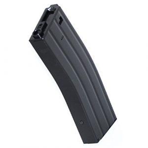 Airsoft Shopping Mall Airsoft Gun Magazine 1 Airsoft Shooting Gear CYMA 350rd Wire-Winding Flash Mag Magazine For M-Series AEG Black