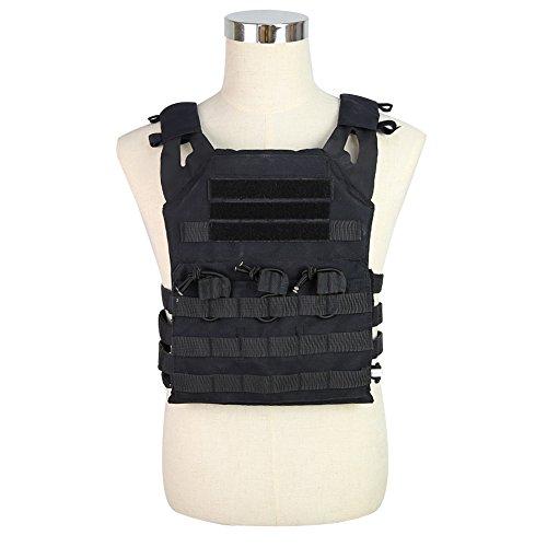 DETECH Airsoft Tactical Vest 1 DETECH Tactical JPC MOLLE Vest Military Wargame Chest Rig Hunting Vest Airsoft CS Protective Vest