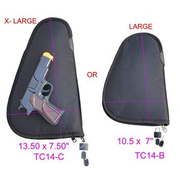 Explorer Pistol Case 7 Explorer Lock+Key Pistol Case