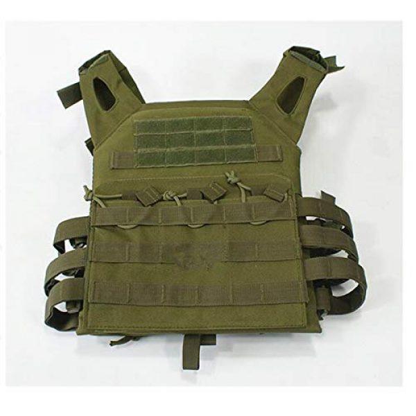 HWZ Airsoft Tactical Vest 1 HWZ Tactical Vest Combat Vest Outdoor Multi-Function CS Field EVA Thick Guard Vest