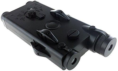 SportPro  2 SportPro Dboys Polymer PEQ-II Style Dummy Battery Box Type B for AEG Airsoft - Black