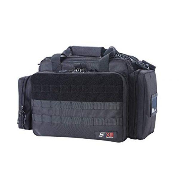 SXIII Pistol Case 2 SXIII S13 Tactical Pistol Range Bag 1000D Ballistic Denier (Light)