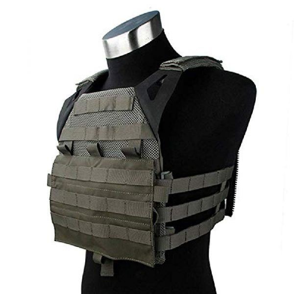 BGJ Airsoft Tactical Vest 2 TMC Tactical Vest Jump Plate Carrier JPC 2.0 Maritime Ver Ranger Green MOLLE Body Armor Molle Vest Hunting Airsoft Tactical Gear