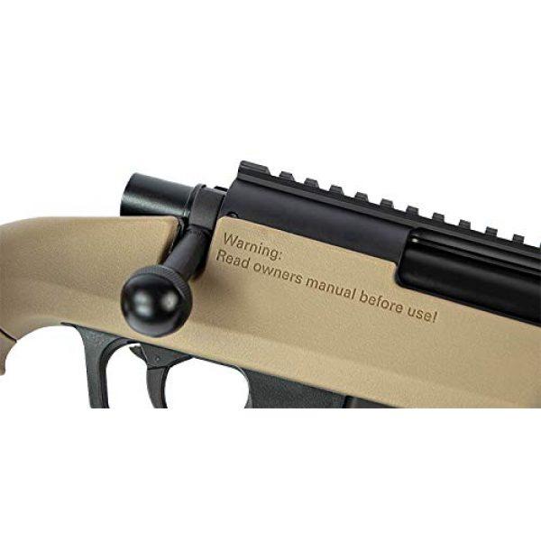 Elite Force Airsoft Rifle 4 Elite Force Amoeba AS-02 Striker Rifle 6mm BB Sniper Rifle Airsoft Gun, Dark Earth Brown
