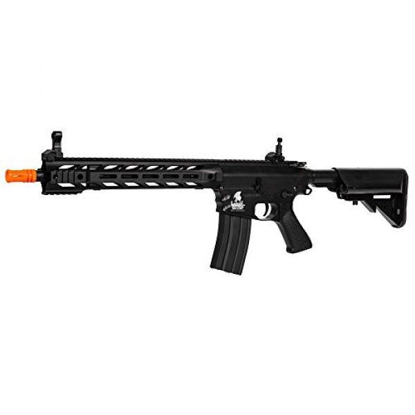 Lancer Tactical Airsoft Rifle 1 Lancer Tactical Interceptor SPR (Black LT-25B)