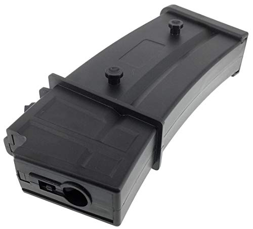 SportPro  6 SportPro Army Force 150 Round Polymer Medium Capacity Magazine for AEG G36 Airsoft - Black