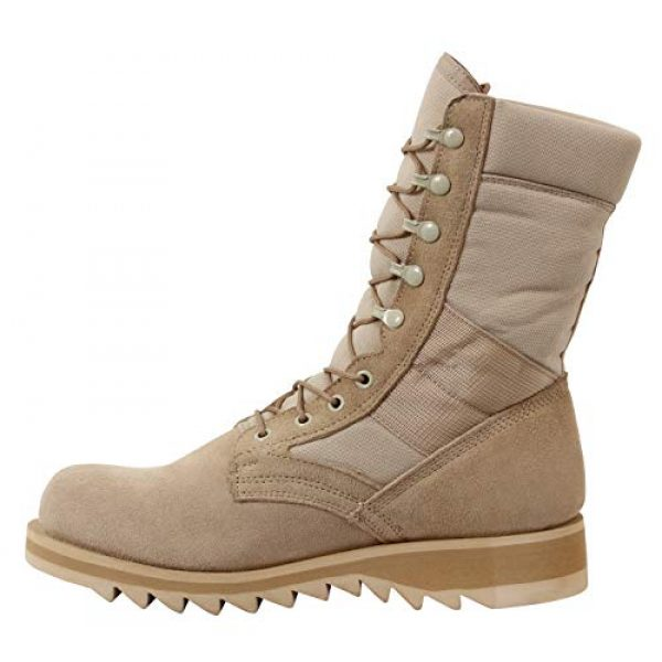 Rothco Combat Boot 3 G.I. Type Ripple Sole Desert Tan Jungle Boots