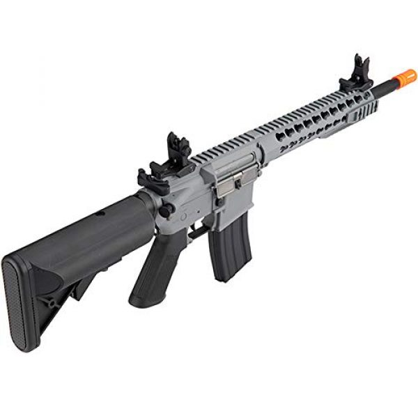 "Lancer Tactical Airsoft Rifle 3 LANCER TACTICAL Gen 2 LT-19 Carbine 10"" AEG Automatic Aerosoft Gun"