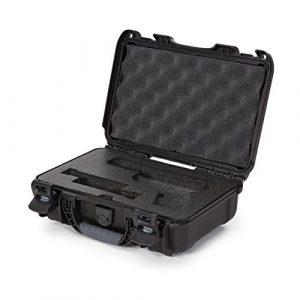 Nanuk Pistol Case 1 Nanuk 909 2UP Waterproof Hard Case w/Custom Foam Insert for Glock Pistols