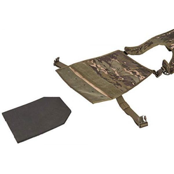 Lancer Tactical Airsoft Tactical Vest 5 Lancer Tactical Ballistic 600D Poly Combat Training Tactical Vest Camo Tropic Adjustable Lightweight