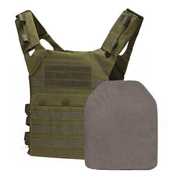 BGJ Airsoft Tactical Vest 3 2 pcs Foam Training Hunting Body Armor Plates Dummy Tactical Vest Bulletproof Panel for JPC Military Airsoft Vest Equipment
