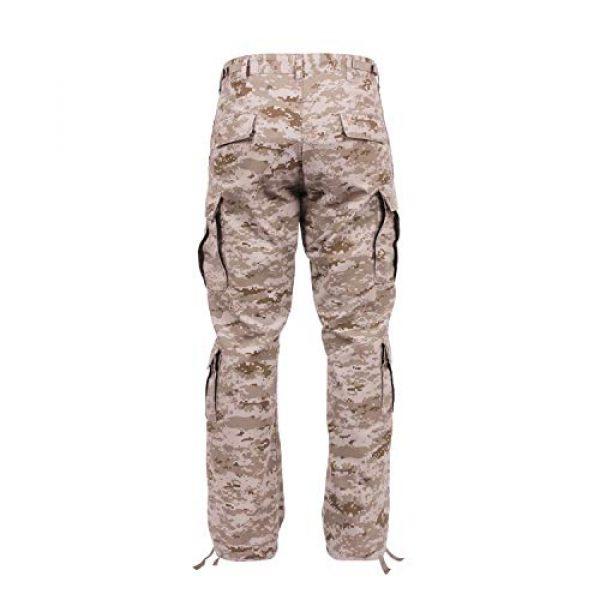 Rothco Tactical Pant 3 Vintage Camo Paratrooper Fatigue Pants, Desert Digital Camo, L