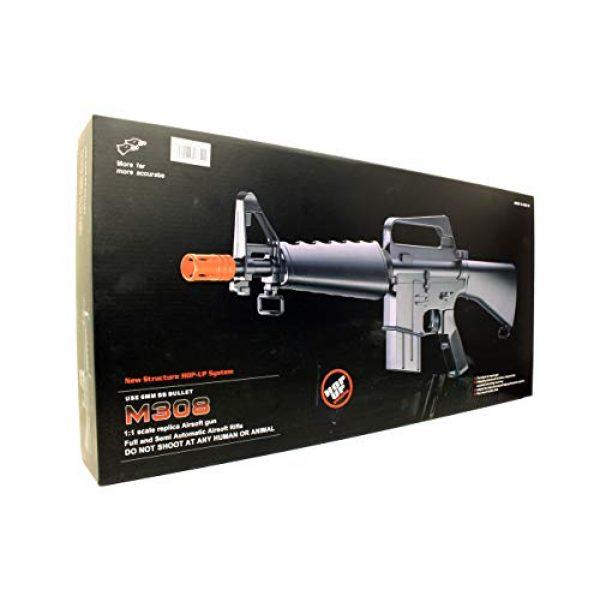 A&N Airsoft Rifle 4 A&N Limited Edition M16 Mini Airsoft Spring Rifle Gun Set of 2 Airsoft Rifle with 6mm 2000 Bulldog BB Pellets