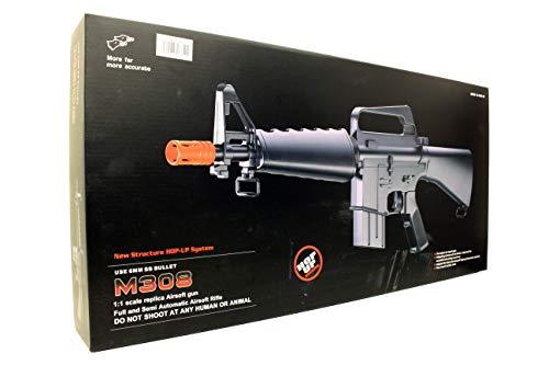 A&N  4 A&N Limited Edition M16 Mini Airsoft Spring Rifle Gun Set of 2 Airsoft Rifle with 6mm 2000 Bulldog BB Pellets