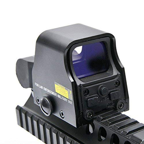 Yingyou  3 Yingyou Reflex Sight Scope Tactical Mini Holographic Red Dot Scope Light Adjustable Brightness Gun Rifle Shooting Spotting