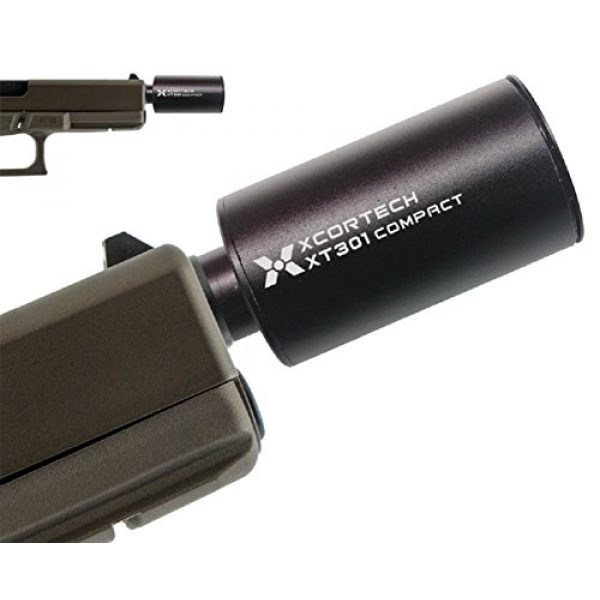 XCORTECH Airsoft Gun Mini Tracer Unit 1 Xcortech XT301 Mini Tracer Unit[For GBB/-14mm] (Black)