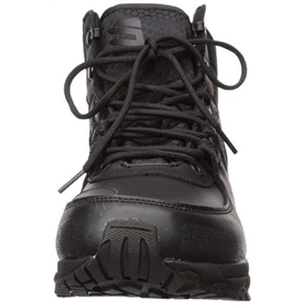 "BLACKHAWK Combat Boot Polish 2 BLACKHAWK! Trident Ultralite 6"" Tactical Boots Leather/Nylon Men's"