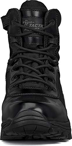 """Belleville Tactical Research TR Combat Boot 4 Belleville Tactical Research TR Men's Class-A TR906Z 6"""" Hot Weather High Shine Side-Zip Boot"""