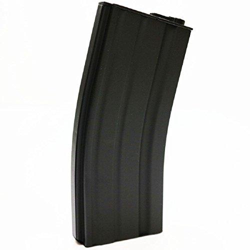Airsoft Shopping Mall  1 Airsoft Shooting Gear E&C 30rd Mid-Cap Magazine for M-Series AEG Black