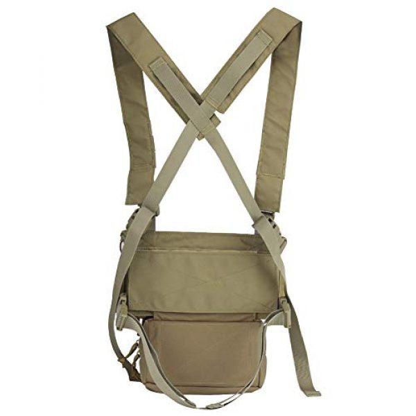 OAREA Airsoft Tactical Vest 3 OAREA Hunting Tactical Vest Magazine Pouch Modular Chest Rig Set Drop Pouch 3PCS Mag Insert Set