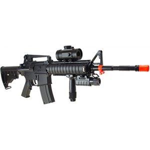 CSI Airsoft Rifle 1 m83a2 semi & fully automatic electric airsoft rifle(Airsoft Gun)