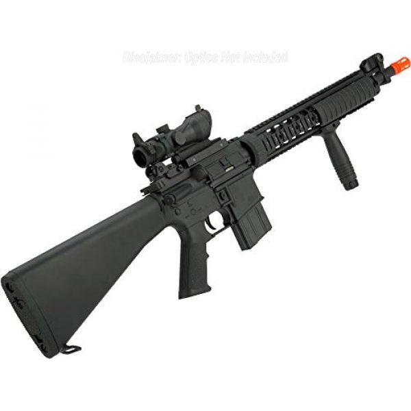 Evike Airsoft Rifle 2 Evike Airsoft - A&K Mk12 SPR Airsoft AEG Sniper Rifle (Model: SPR Mod 1)