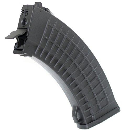 Airsoft Shopping Mall  1 Airsoft Shooting Gear CYMA 550rd Hi-Cap Bulgarian Waffle Mag Magazine For AK Series AEG Black