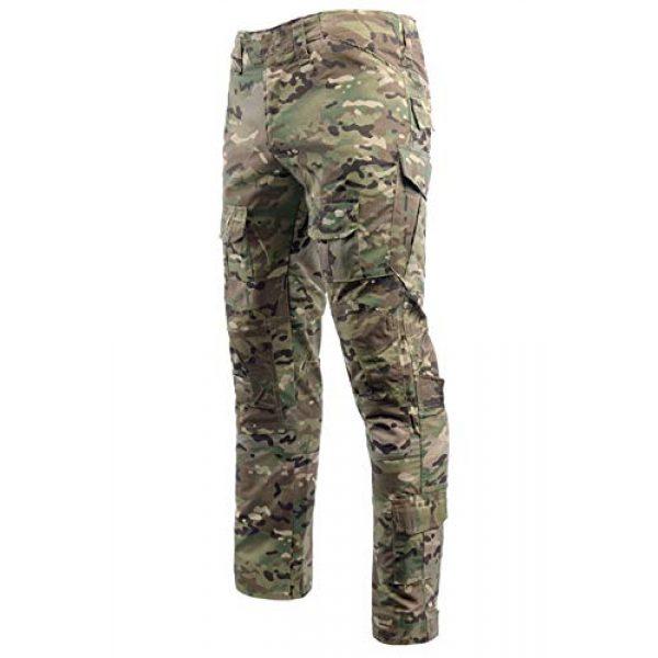 LANBAOSI Tactical Pant 3 Men's Airsoft Pants Multicam Tactical Military Camo Hunting Combat Cargo Uniform Pants