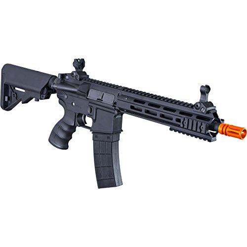 Tippmann Airsoft  4 Tippmann Tactical Recon AEG CQB 9.5in Airsoft Rifle Black