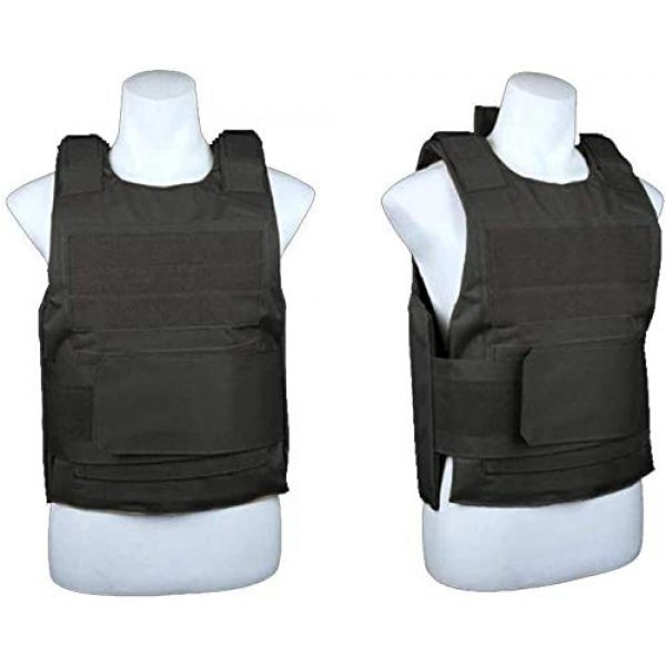 N/W Airsoft Tactical Vest 3 N/W Tactical Vest Outdoor Paintball Shooting, Adjustable Training Protective Vest, Suitable for Light Outdoor CS Training Protective Vest.