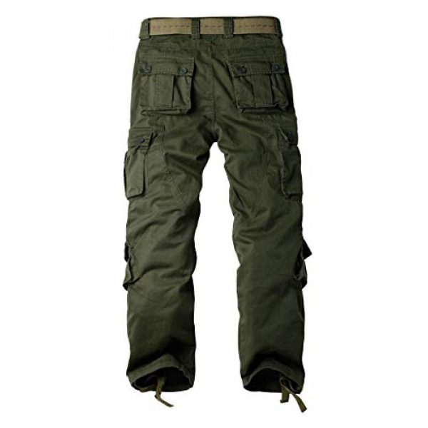 TRGPSG Tactical Pant 2 Women's Casual Combat Cargo Pants, Cotton Outdoor Camouflage Military Multi Pockets Work Pants 16