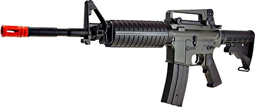 Jing Gong (JG) Airsoft Rifle 2 JG aeg-m1a4 nicads/charger included-metal gearbox(Airsoft Gun)