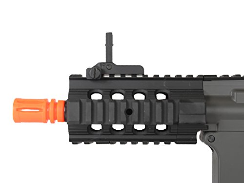 MetalTac  2 MetalTac Electric Airsoft Gun M4 Stubby CQB JG-F6632 with Rail Mounting System