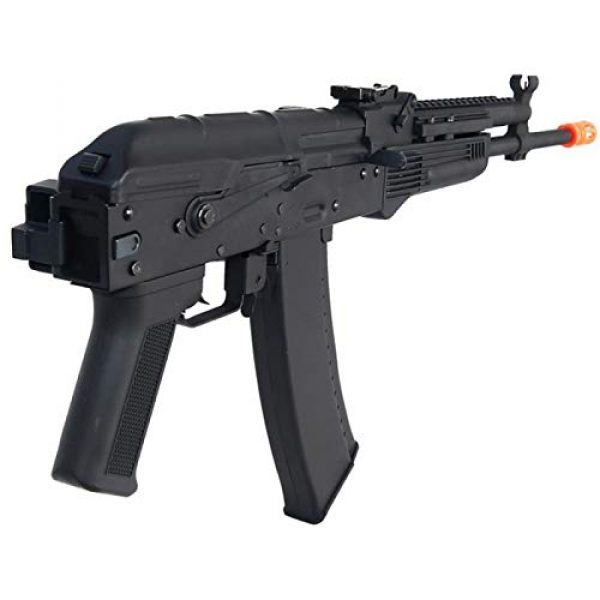 Lancer Tactical Airsoft Rifle 3 Lancer Tactical LT-740J AEG Full Metal Rifle with Gas Block Rail Black