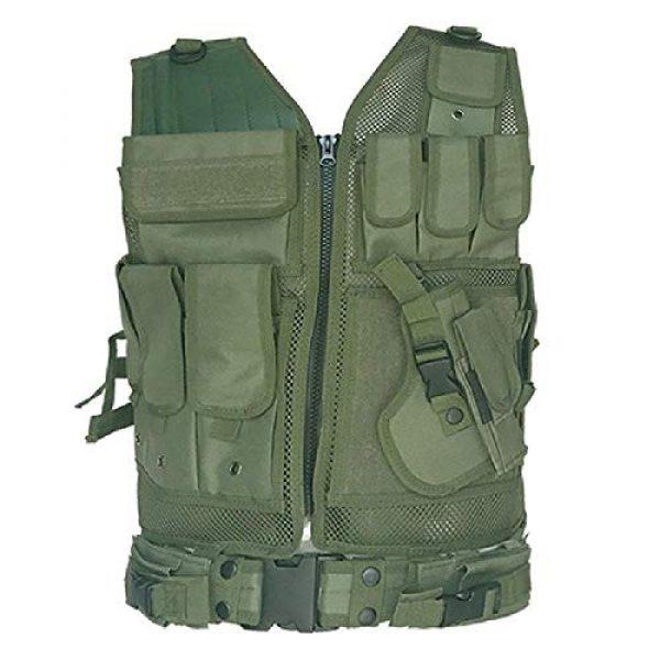 BGJ Airsoft Tactical Vest 6 BGJ Tactical Vest Airsoft Paintball Vests Molle Combat Assault Men Army CS Hunting Vest Camping Hiking Accessories