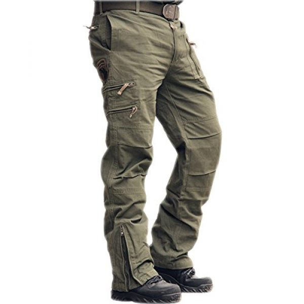 sunsnow Tactical Pant 1 Men's Tactical Pants Outdoor Workout Cargo Pants Men Rip-Stop Work Pants for Men with Multiple-Pockets