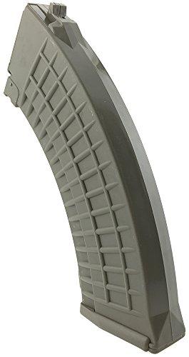 SportPro  4 SportPro 550 Round Polymer Thermold Waffle High Capacity Magazine for AEG AK47 AK74 Airsoft - Dark Earth