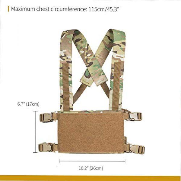 OneTigris Airsoft Tactical Vest 7 OneTigris Multicam Laser-Cut Modular Vest & Chest Rig for Men