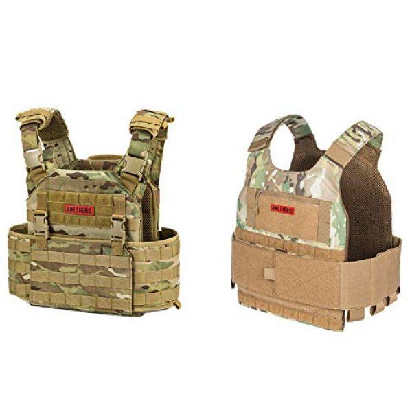 OneTigris Airsoft Tactical Vest 1 OneTigris Multicam Airsoft Vest & Low Profile Tactical Vest