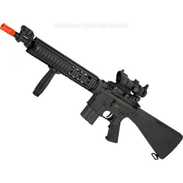Evike Airsoft Rifle 1 Evike Airsoft - A&K Mk12 SPR Airsoft AEG Sniper Rifle (Model: SPR Mod 1)